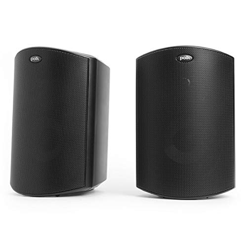 Polk Audio Atrium 4 Outdoor Speakers with Powerful Bass (Pair