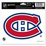 montreal canadiens auto decal - WinCraft NHL Montreal Canadiens Multi-Use Colored Decal, 5