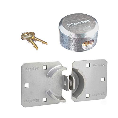 Master Lock - (1 Hasp/Hidden Shackle Lock Combo, 770-6271N-1 w/BumpStop Technology