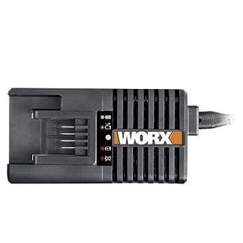 Worx WA3848 - Cargador de 30 minutos Worx 20 V 14.4 Ah