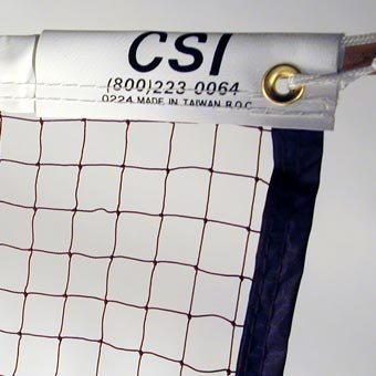 Cannon Sports 20-ft Badminton Tournament Net with Nylon Rope Cable