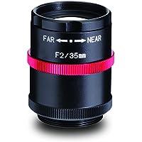 Kowa LM35JCM-V 2/3 35mm F2.0/F4/F8/F16 C-Mount Lens, 2 Megapixel Rated, Ruggedized
