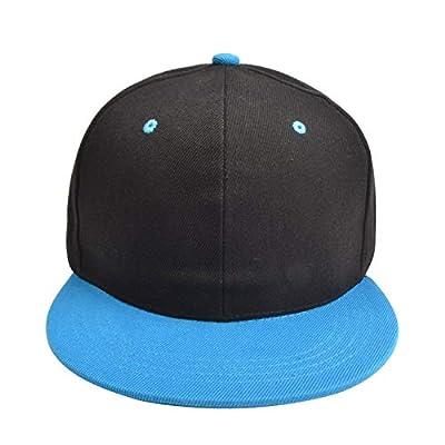 Fashion Personalized Hip-hop Hats Men Women Solid Adjustable Sun Hat Snapback Hip Hop Hat Customize Logo BQ1
