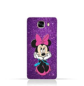 Samsung Galaxy C5 TPU Silicone Case with Minnie Mouse Design