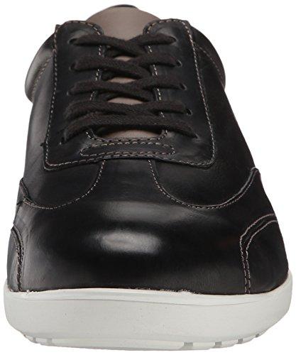 Donald J Pliner Hombres Harv Sneaker Black Calfskin