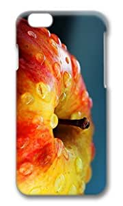 MOKSHOP Adorable fresh apple Hard Case Protective Shell Cell Phone Cover For Apple Iphone 6 (4.7 Inch) - PC 3D