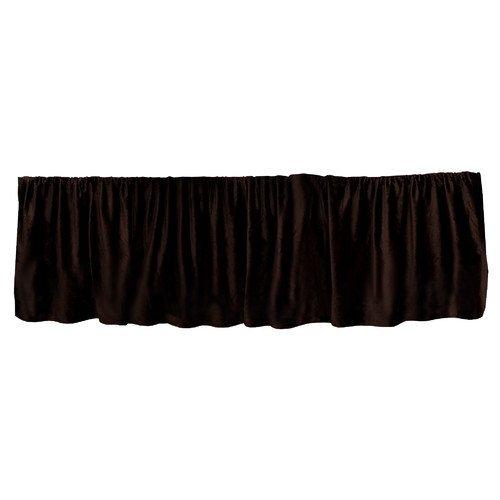 Go Mama Go Luxurious Dust Ruffle Chocolate Minky//Brown 16 16 Go Mama Go Designs 718122809271