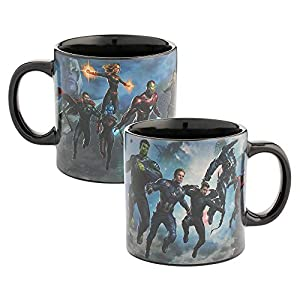 Avengers Endgame 20 oz. Heat Reactive Ceramic Mug