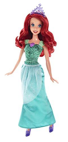 Princesses Disney - Cfb74 - Poupée Mannequin - Ariel - Robe Scintillante