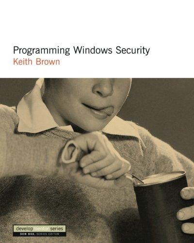Programming Windows Security