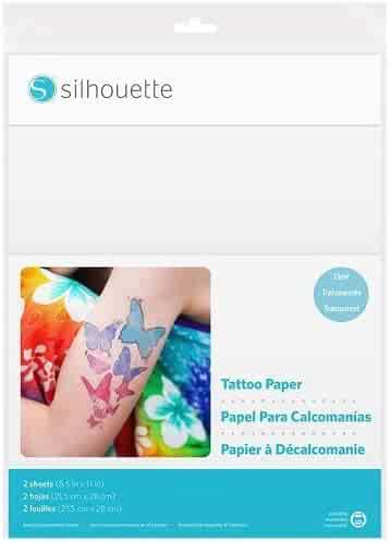 Silhouette MEDIA-TATTOO Temporary Tattoo Paper