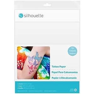 Silhouette MEDIA-TATTOO Temporary Tattoo Paper