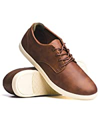 BLACKWELL Mens Perry Vegan Leather Lace up Casual Shoe