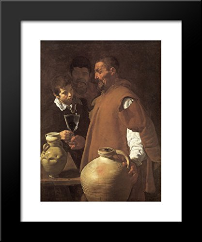 The Waterseller of Seville 20x24 Framed Art Print by Diego Velazquez