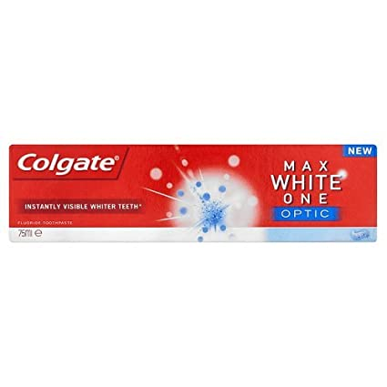 Colgate Max White One Optic Pasta de Dientes Blanco Más Blanco Visible Instantáneamente 75ml