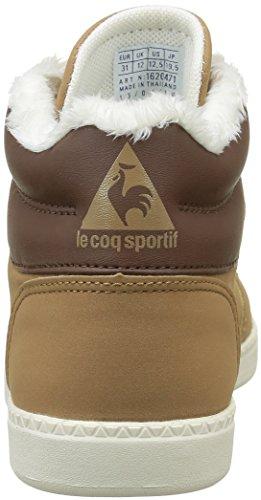 Le Coq Sportif Rebond Mid Gs, Zapatillas Unisex Niños Marrón (Tan/Mustang/MarshmalTan/Mustang/Marshmal)