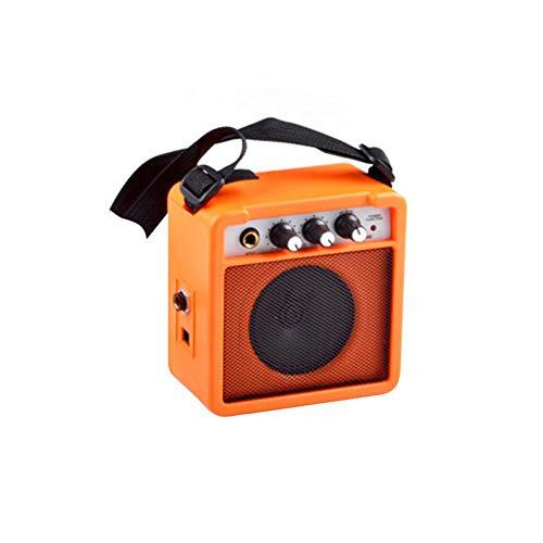 Roful Small Sound Amplifier, Guitar Speaker YX-TG-5 Guitar Special Small Speaker 5W Portable Mini Speaker ()
