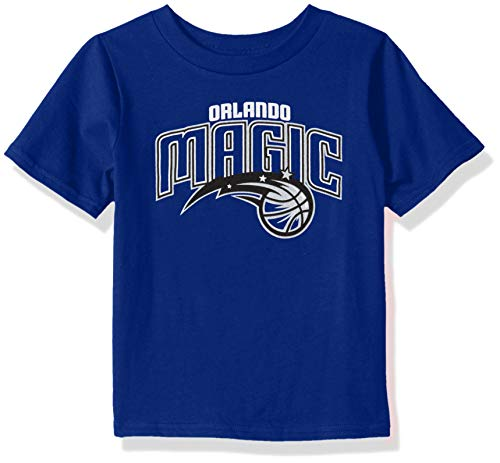 Outerstuff NBA Kids & Youth Boy's Big Primary Logo Short Sleeve Basic Tee, Royal, Youth Medium(10-12)