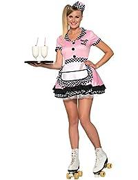 Women's Trixie Sue 50's Diner Waitress Costume