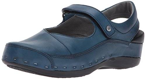 Slipper Blue wolky 6227 Vegi nbsp;Roll Roll Leather Slipper ArqcqxXPWI