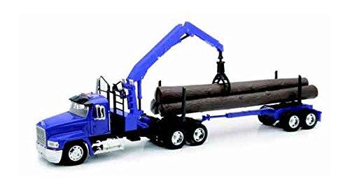 Mack Log Trailer 1:32 Scale Die-Cast Vehicle For Kids Age (Log Truck Trailers)