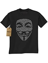 V for Vendetta / Guy Fawkes Mask Mens T-shirt