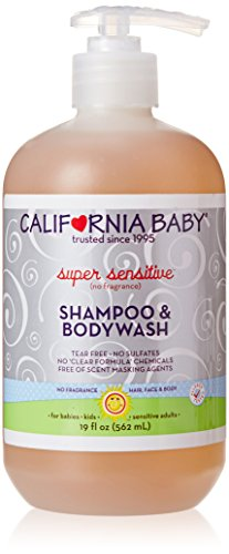 6. California Baby Super Sensitive Shampoo and Body Wash