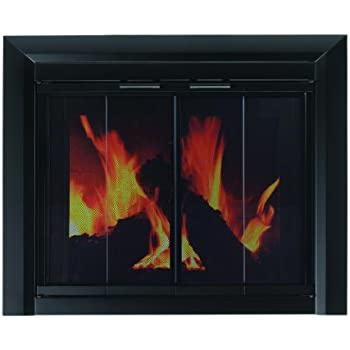Pleasant Hearth CM 3010 Small Clairmont Fireplace Glass Door