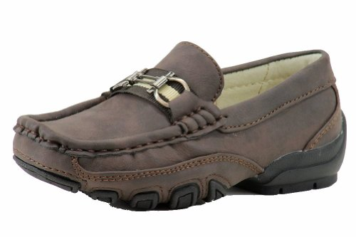 Easy Strider Boys The Performance Fashion Loafer School Uniform Shoes Brown PcaACd4Xm