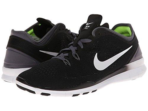 Chaussures Course Noir 0 Noir Foncé TR Free gris de Laufschuhe Damen NIKE Blanc Femme Fit blanc 5 pBqzWwU0