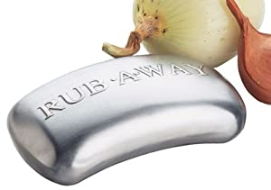 Rub Away Odour Removing Bar - Stainless Steel Soap - by Amco