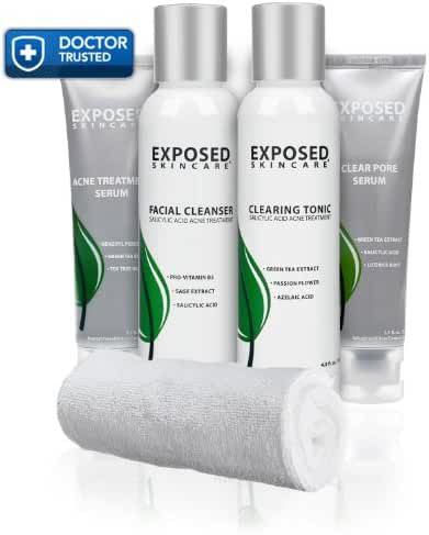 Exposed Skin Care  Acne Treatment: Basic Kit for All Skin Types