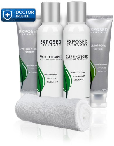 Exposed Skin Care  Acne Treatment: Basic Kit for All Skin (Acne Skin Kit)