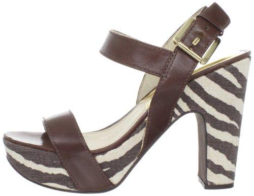 Michael Michael Kors Women's Ivana Platform Sandal,Mocha,7 M US