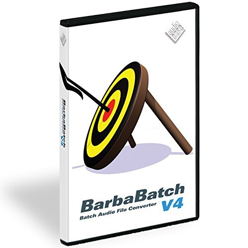 Audio Ease BarbaBatch | Mac OS X Sound File Conversion Software Electronic Delivery by Audio Ease