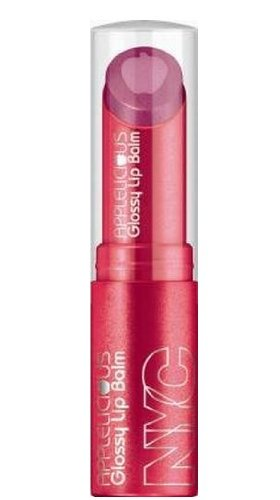 Shine 3.5g/0.12oz Makeup - NYC New York Color Applelicious Glossy Lip Balm ~ Apple Blueberry Pie 357