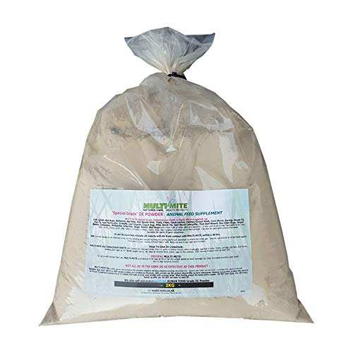 Multi-Mite 2KG DIATOMACEOUS EARTH Feed Red MiteSupplement DE Powder SPECIAL GRADE DE