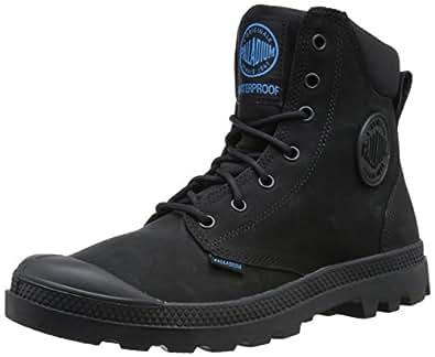 Palladium Men's Pampa Cuff WP Lux Rain Boot, Black, 5.5 M US