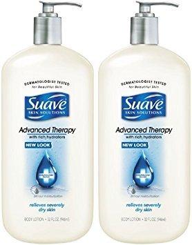 Suave Advanced Therapy Body Lotion - 32 oz - 2 pk
