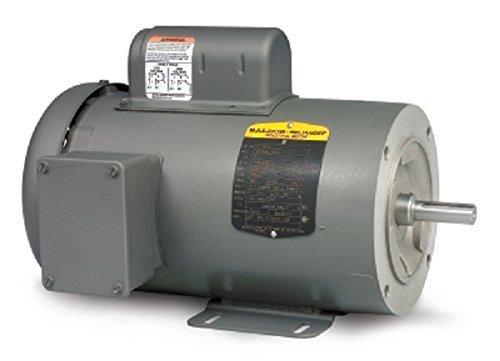 Baldor CL3506 General Purpose AC Motor, Single Phase, 56C Frame, TEFC Enclosure, 3/4Hp Output, 3450rpm, 60Hz, 115/230V Voltage - Single Phase 56c Frame