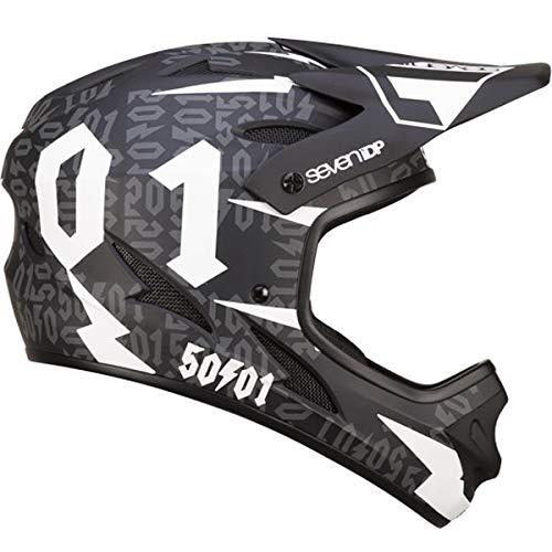 7iDP M1 Helmet 50:01 Black/White M