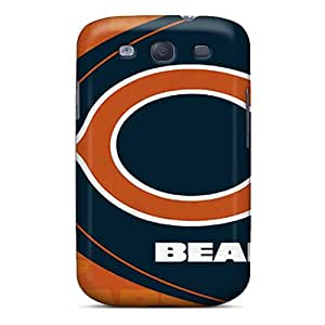 SSizemore Premium Protective Hard Case For Galaxy S3- Nice Design - Chicago Bears
