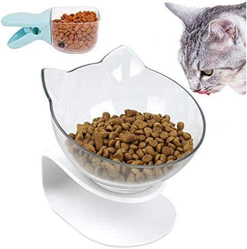 Dorakitten Cuenco del Gato, Tazón de Gato Individual ...