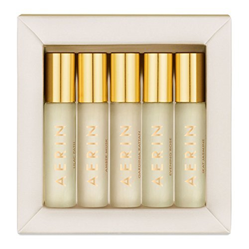 (AERIN 'The Fragrance Collection Carded Vial Sampler 5 pc 0.07oz/2ml Each')