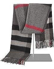 Woolen Bloom Sciarpa Donna Sciarpa Scialle Inverno, Coperta cachemire Invernale Sciarpa Scialle Donna Inverno Elegante Sciarpa Lungo con plaid per Autunno e invernali