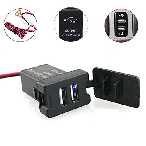 audew-12-24v-black-car-dual-usb-port-charge-adaptor-socket-dashboard-mount-for-toyota
