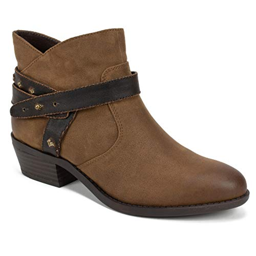 Ankle Womens Boot Mountain - WHITE MOUNTAIN Women's Sandy Ankle Boot Tobacco/Smooth 7 M US