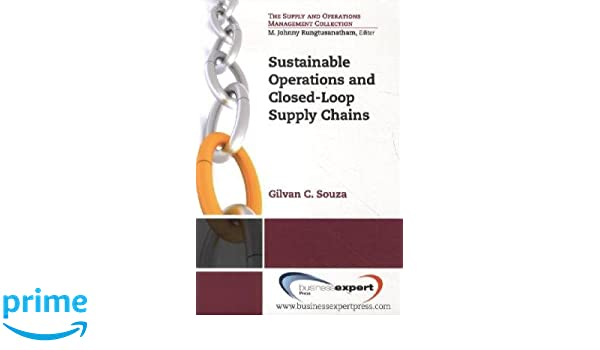 sustainable operations and closed loopsupply chains souza gilvan c