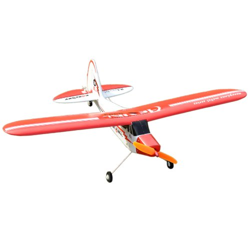 Piper J3 Cub 610mm Brushless 4 Channel PNP Mini Park Flyer RC Airplane - (Rc Park Flyers)