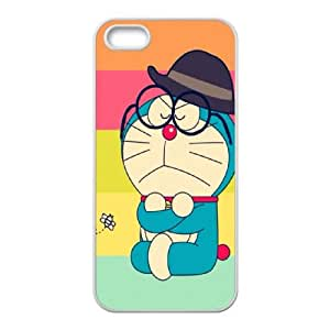 Doraemon iPhone 5 5s Cell Phone Case White ahxy